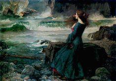 J. W. Waterhouse - Miranda -- The Tempest, 1916