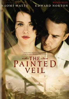 The Painted Veil - Although and absolutely brilliant movie and love story, it seems far from the mark from the actual novel by Somerset Maugham, and get points deducted from that. Loved the characters and landscape in this movie.  Nice messy lives, but all the characters are likeable.  Wish there were more movies like this.