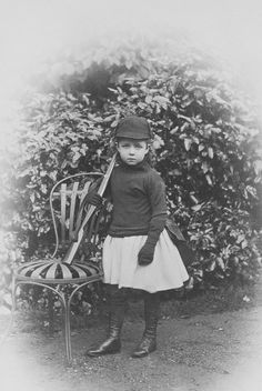 Princess Margaret of Connaught, 1886 [in Portraits of Royal Children Vol.35 1886-1887] | Royal Collection Trust