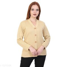 Sweaters BlushhCollection Women Winter Full Sleeve Cardigan (Pack Of 1) Fabric: Wool Sleeve Length: Long Sleeves Multipack: 1 Sizes:  XL (Bust Size: 36 in Length Size: 25 in)  L (Bust Size: 36 in Length Size: 25 in)  M (Bust Size: 36 in Length Size: 25 in) Country of Origin: India Sizes Available: S, M, L, XL *Proof of Safe Delivery! Click to know on Safety Standards of Delivery Partners- https://ltl.sh/y_nZrAV3  Catalog Rating: ★4 (2403)  Catalog Name: Classy Latest Women Sweaters CatalogID_1967872 C79-SC1026 Code: 892-10710926-