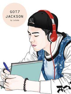 Jackson Wang #jackson #GOT7 #fanart