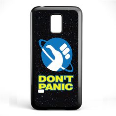 Hitchhikers Guide To The Galaxy Dont Panic TATUM-5295 Samsung Phonecase Cover Samsung Galaxy S3 Mini Galaxy S4 Mini Galaxy S5 Mini