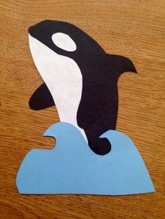 Orca whale door decs.