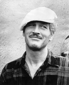 Paul Newman...I like the scruff.