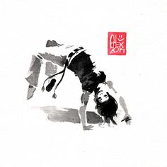 Illustration : Capoeira – 693 [ #capoeira #watercolor #illustration]