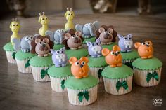 Cupcake de Animais