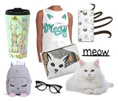 """""""Meow Love"""" by sagaciousdesign on Polyvore featuring Chantecaille and ZeroUV"""