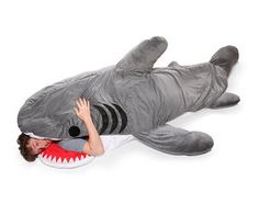 shark blanket, want!