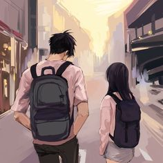 - Anime/Manga☺Just for you - Cute Couple Drawings, Cute Couple Art, Anime Love Couple, Anime Couples Drawings, Anime Couples Manga, Love Cartoon Couple, Cute Couple Wallpaper, Anime Scenery Wallpaper, Girl Wallpaper