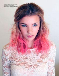 pink hair // love this!