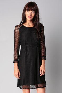 Robe noire dentelle Floriane Kookaï sur MonShowroom.com