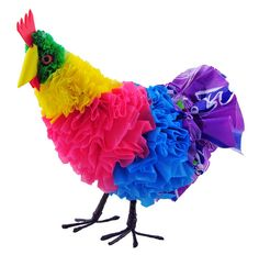 recycled plastic bag chicken...