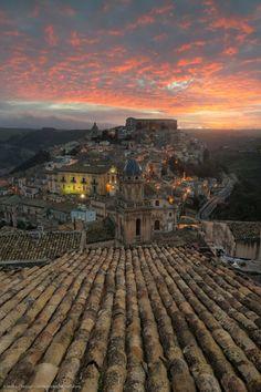 Alba su Ragusa Ibla - Sicily mirkochessari