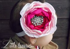#SALE 40% OFF with code: HAPPYNEWYEAR  - Sur le Dessus OTT Ombre Peony Headband Pink
