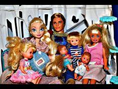 Elsa Disney Frozen Prince Felix Kids Parody Kristoff and Princess Anna DisneyCarToys Barbie