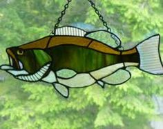 stained glass fish - Google Search
