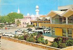 Post Office and Baluchi Mosque, Mombasa Kenya