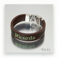 Diy Rings, Leather Bracers, Brown Leather, Black Leather, Fashion Bracelets, Men's Leather, Steel, Silver, Crystals