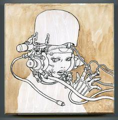 Katsuya Terada - Hot Pot Girl on Wood 6 - #11
