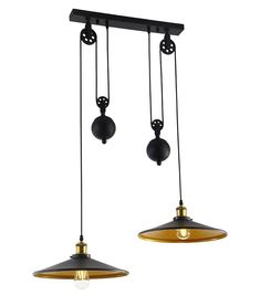 Twin Rise & Fall Pendant on Single Ceiling Bar Cool antique kitchen lighting. Kitchen Lighting Design, Kitchen Pendant Lighting, Kitchen Pendants, Lights Over Dining Table, Dining Table Lighting, Dining Tables, House Lighting, Track Lighting, Island Pendant Lights