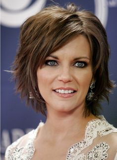 The short razor hairstyle is tapered into the back with different layers cut up to the top and both sides forming the luscious appearance. The layers can frame and lift your facial features greatly. The side sweeping bangs can add more style and charm to the whole sexy layered hairstyle. The pretty hairstyle is an[Read the Rest]