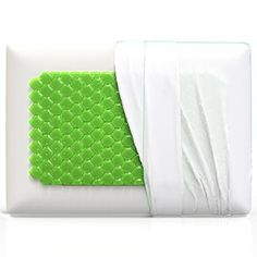 """Equinox Cooling Gel Memory Foam Pillow - 28\"""" x 16\"""" - King Size Bed Pillow - New Cooling Gel Technology with Removable Pillow Case - Dust Mite Resistant and Hypoallergenic *** To view further for this item, visit the image link."""