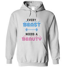 (Top Tshirt Deals) every beast needs a beauty [TShirt 2016] Hoodies, Funny Tee Shirts