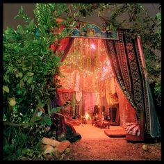 """Holiday of Sukkot  ~  A WOW! Sukkah  ~  A sukkah is """"an ephemeral, elemental shelter, erected for one week each fall, in which it is customary to share meals, entertain, sleep, and rejoice."""""""