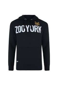 bb7f7bc9994 Zoo York Mens Over Head Hoodie Hooded Sweatshirt Top With Logo Print .  Style - Speed. Colour - Anthracite. Size - XX-Large