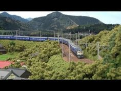 ▶ Nゲージ・鉄道模型 KATO 24系25形 寝台特急「富士」 - YouTube
