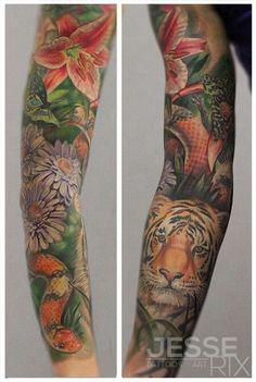 jungle tattoo - Buscar con Google