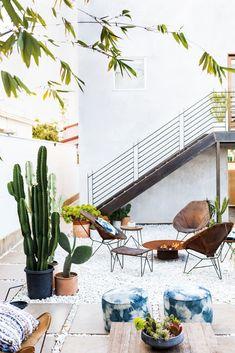 Un outdoor in perfetto stile Cali-Cool. Photo credits domino.com