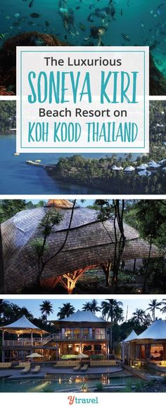 Want an unspoilt Thai island location? We've found the perfect Koh Kood Beach resort for families. Yes, it's a luxury resort! The Soneva Kiri Beach Resort on Ko Kood Thailand is just the family escape you've been dreaming of. Cancun Hotels, Beach Hotels, Beach Resorts, Beach Vacations, Thailand Resorts, Where Is Bora Bora, Thai Islands, Honeymoon Spots, Viajes