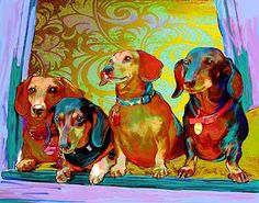 More Doxie Art