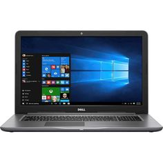 "Dell - Inspiron 17.3"" Laptop - Intel Core i7 - 8GB Memory - AMD Radeon R7 M445 - 1TB Hard Drive - Gray"