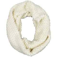 LA77 Popcorn Infinity Scarf (€18) ❤ liked on Polyvore featuring accessories, scarves, circle scarves, loop scarf, chunky knit scarves, infinity scarves e knit circle scarf