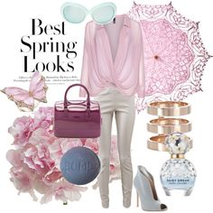 Spring look by takako-yacima on Polyvore featuring polyvore, moda, style, Manon Baptiste, The Row, Gianvito Rossi, Furla, Repossi, Stephen Webster, Cultural Intrigue, Linda Farrow Luxe, Marc Jacobs and H&M