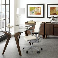 "Strut 70"" Work Table in Desks 