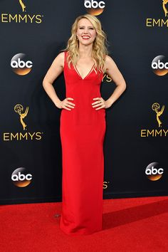 Kate McKinnon arrives at the 68th Primetime Emmy Awards