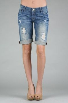 womens bermuda shorts - Google Search