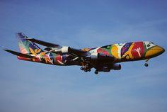 129cf - South African Airways Boeing 747-312; ZS-SAJ@ZRH;28.04.2001 by Aero Icarus, via Flickr