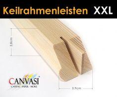 Keilrahmenleisten XXL Canvas Paper, Wedges, Frame, Canvas