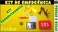 Lata com Itens de Emergência | Review [ Pescas e Dicas]
