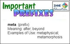 A daily Literary & Language Arts activity to help your children or students to learn their Prefixes. Visual Learning, Prefixes, Educational Videos, Special Needs, Art Activities, Language Arts, Knowing You, Meant To Be, Students