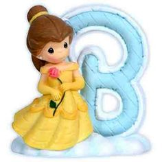 B for Belle (Precious Moments by the Disney Store) #BeautyAndTheBeast