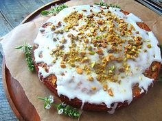 Stacey Snacks: This Cake: Zucchini & Pistachio