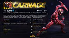 Entering Marvel Contest of Champions: Carnage