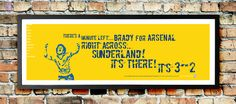 FREE delivery in mainland UK. Arsenal Football, Arsenal Fc, Fa Cup, Sunderland, Love Of My Life, Cartoon, Artwork, Work Of Art, Auguste Rodin Artwork