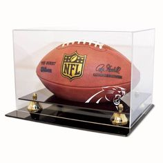Carolina Panthers NFL Coach's Choice Football Display Case