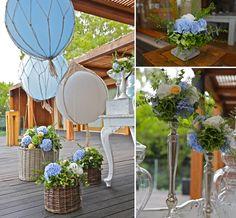 Hot Air Balloon Christening @ Island Restaurant | Varkiza, Athens
